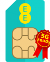EE SIM only plans - Now 5G Ready!