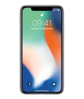 Apple iPhone X – 64GB Silver