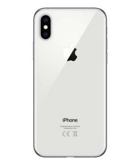 iPhone XS Silver Back