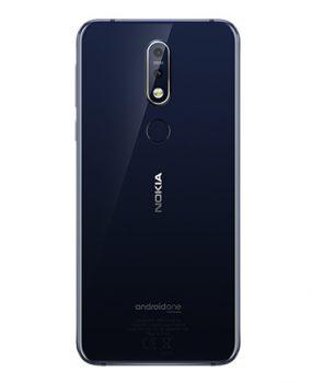 Nokia 7.1 Blue Back