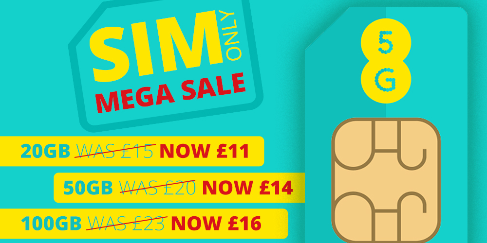 Lowest Price EE Business SIM Only deals