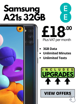 Samsung Galaxy A21s on EE Business