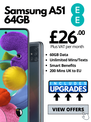 Samsung Galaxy A51 on EE Business