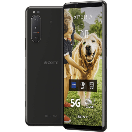 Sony Xperia 5 II on EE Business