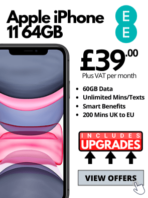 iPhone 11 on EE Business