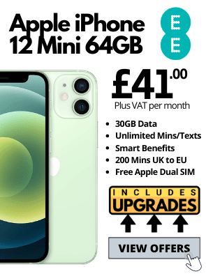 iPhone 12 Mini on EE Business